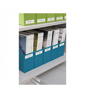 Băng nhãn in Dymo S0722480 (99019), LabelWriter Large Lever Arch File Labels 190mm x 59mm x 110 labels - Black on White  | Nh...