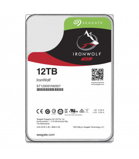 Ổ cứng chuyên dụng SEAGATE IRONWOLF 12TB 3.5 Inch SATA HDD 7200rpm 256MB Cache (ST12000VN0007)  | SEAGATE IRONWOLF  | SEAGATE...